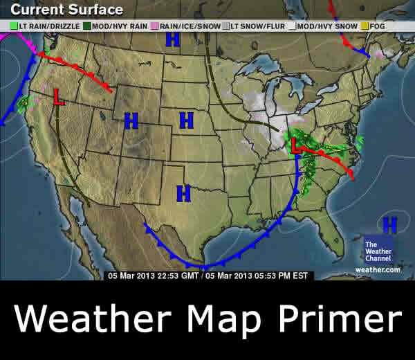 Weather Map Primer