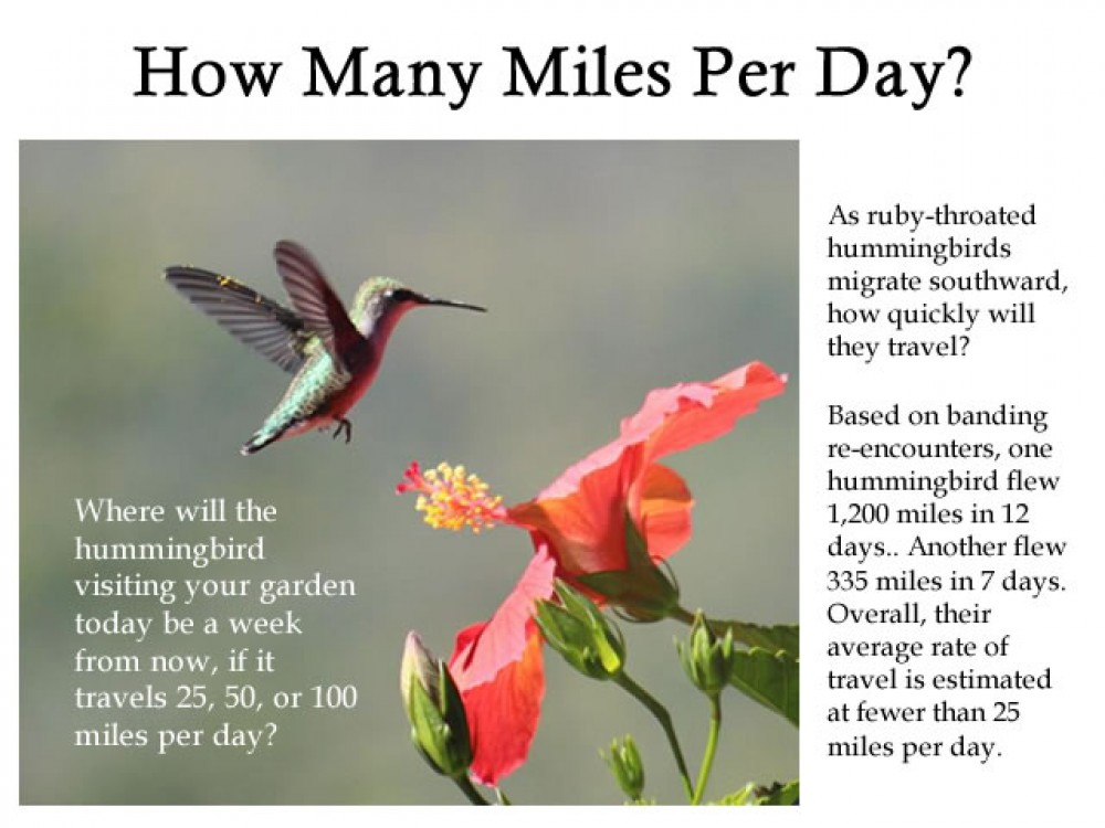 090517 How Many Miles Per Day?