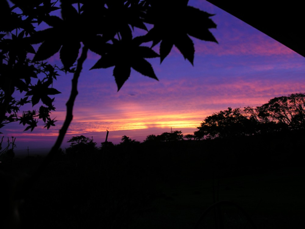 Image: Sunset at Guayabo de Bagaces