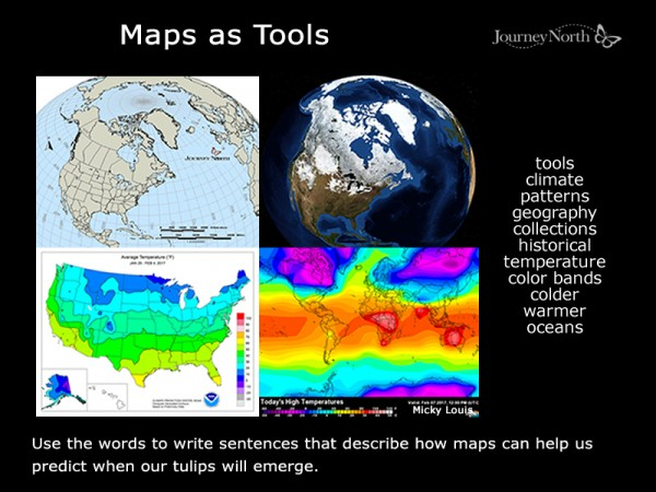 Link to slideshow about maps
